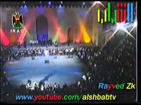 كاظم الساهر ضمني على صدرك مهرجان بابل - تلفزيون الشباب
