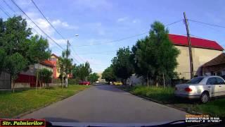 Sunday drive in Timişoara: Ghiroda - Piaţa Iancu Huniade. (Timelapse 2x)