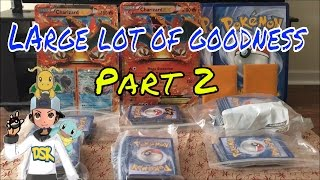 Pokemon Large Lot Part 2. What other goodies did we get?!?!? by Demon SnowKing