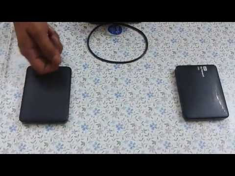 WD Elements vs WD my passport ultra 1TB external hard disks..Comparison   Indian consumer