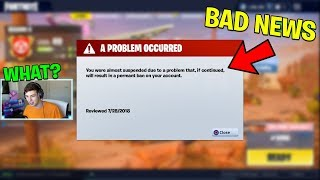 Epic Games almost BANNED me for this video.. (Fortnite Battle Royale)