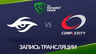 Secret vs compLexity, Bucharest Major [Jam, Lum1Sit]