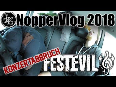 NopperVlog Lebenslaenglich Konzertabbruch Festevil 2018 (видео)