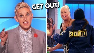 Ellen KICKS OUT Audience For Not Following The Rules