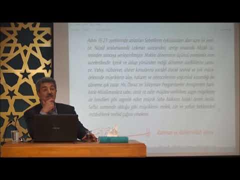 Tuncer Namlı - Sebe Suresi (1 - 21) Ayetlerin Tefsiri