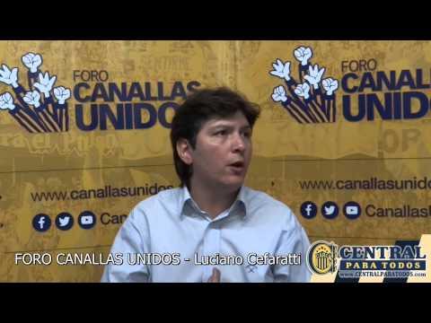 Foro Canallas Unidos - Entrevista Candidatos