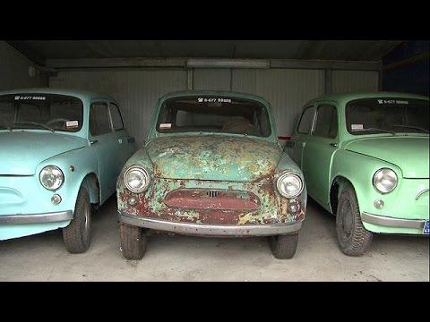 Λιθουανία: Η μεγαλύτερη συλλογή αυθεντικών δειγμάτων της σοβιετικής αυτοκίνησης