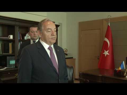 Președintele Igor Dodon a vizitat Ambasada Republicii Turcia
