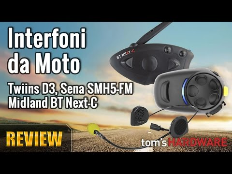 Interfoni da Moto - Twiins D3, Sena SMH5-FM, Midland BT Next-C