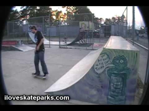 iloveskateparks.com Tour - Matt Hughes Skatepark - Myrtle Beach, SC