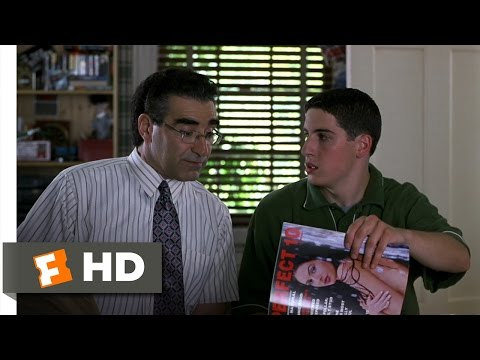 American Pie (5/12) Movie CLIP - Sex-Educated By Dad (1999) HD