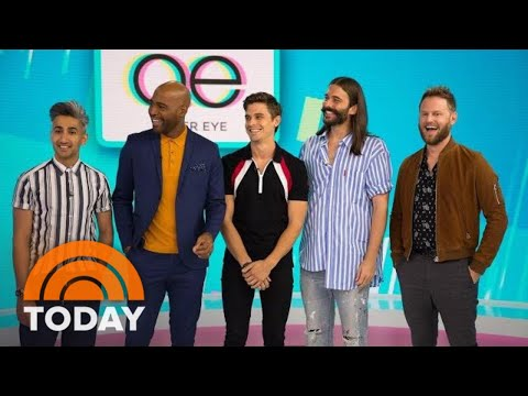 The 'Fab 5' From 'Queer Eye' Visits TODAY, Shares Their Must-Have Style Products And More   TODAY