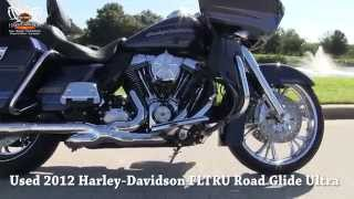 5. Used 2012 Harley Davidson Custom  Road Glide Ultra for sale on Brandon FL