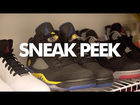 "Ludacris Sneaker Collection - A ""Sneak Peek"" In Ludacris' Sneaker Rooms"