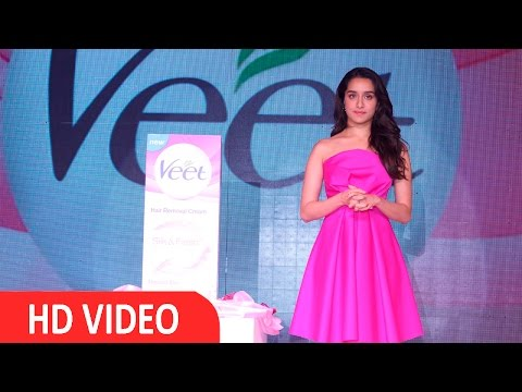 "Shraddha Kapoor Launches Veet ""Girls on the Go"" UNCUT"