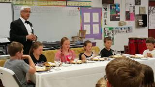The Base Plate - Table Manners Class - Holly Academy 5th Grade