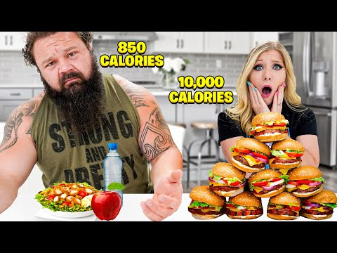 I Swapped Lives with the World's Strongest Man! - Challenge