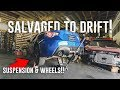 HOW I'M TURNING MY SALVAGED BRZ INTO A DRIFT CAR! *NEW WHEELS & SUSPENSION*