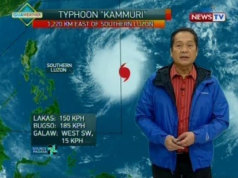 BT Weather update as of 1210 p.m. November 30, 2019