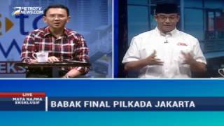 Video Mata Najwa Eksklusif: Babak Final Pilkada Jakarta (1) MP3, 3GP, MP4, WEBM, AVI, FLV Oktober 2017