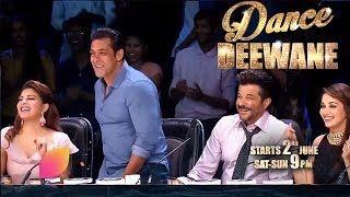 Dance Deewane | Salman Khan | Race 3 Team | Colors Tv Dance Reality Show Dance Deewane 2018