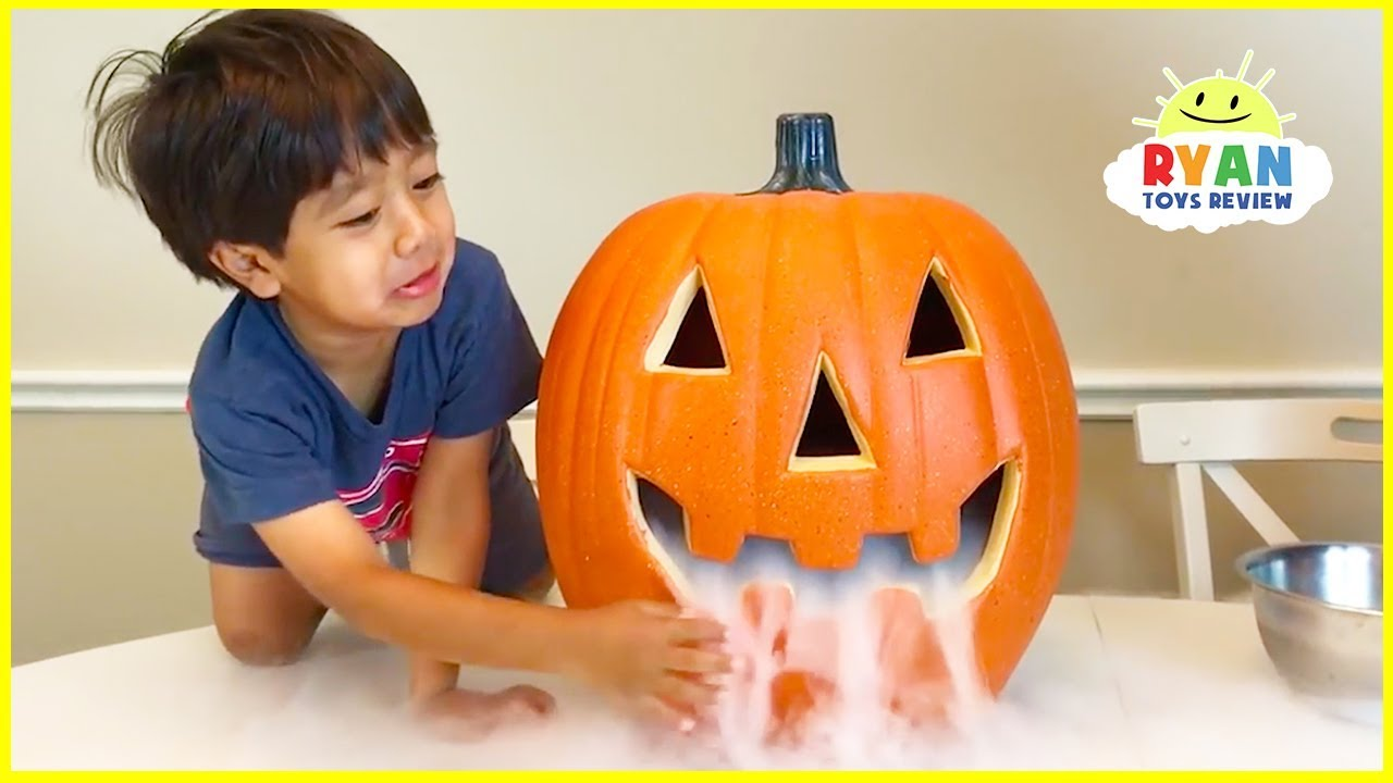 Elephant Toothpaste Science Experiments Halloween Edition!!! - YouTube