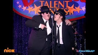 "Drake Bell and Josh Peck perform as the Blues Brothers! | ""Drake & Josh"" 