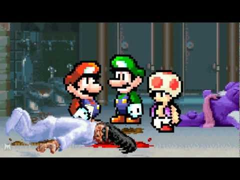 Mario Lead Detective- ClayFighters (rus)