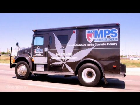 The armored security trucks that transport and literally launder Colorado s pot