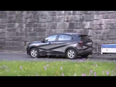 Test Drive Honda HR-V 2015 แอบถ่าย spyshot วิ่งพลางตัวขับทดสอบรถที่เทือกเขาแอลป์