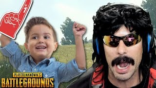Video DrDisRespect plays with Doc's #1 Fan on Battlegrounds! MP3, 3GP, MP4, WEBM, AVI, FLV April 2018