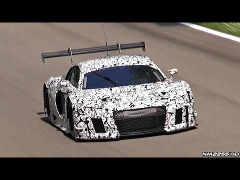 next-gen: audi r8 lms ultra testing with pure v10 sound