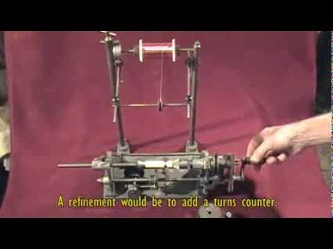 Gadgets and Gizmos – A vintage hand-operated small- coil winding machine (SOLD)
