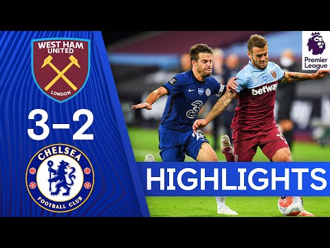 West Ham 3-2 Chelsea | Premier League Highlights