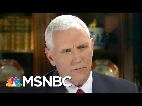 Mike Pence Up To His Neck In Russia Scandal, Losing Press Secretary | Rachel Maddow | MSNBC_Celebek. Heti legjobbak
