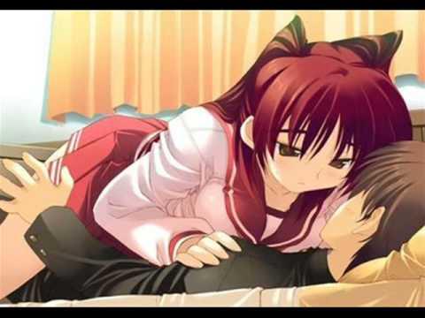 anime couples kiss. Kiss Me Thru The Phone ~ Anime