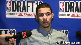 Austin Rivers 2012 NBA Draft Media Day Interview - DraftExpress
