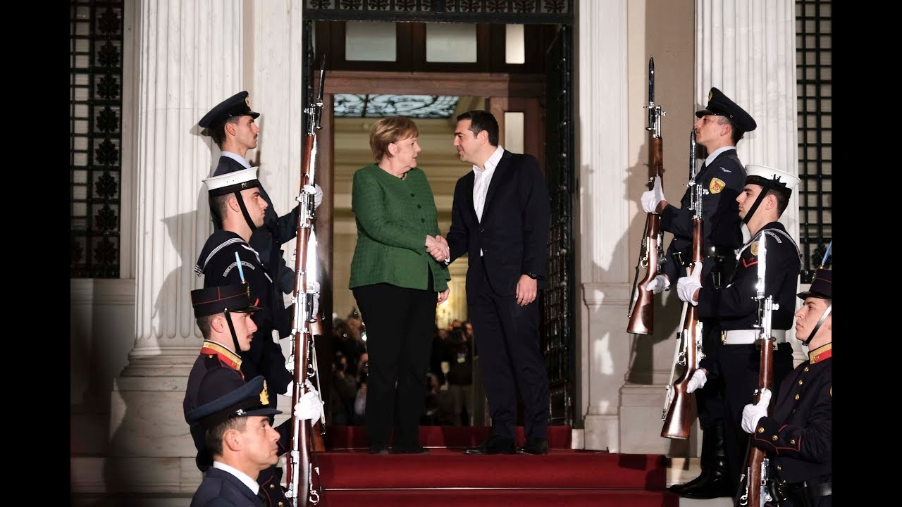 Συνάντηση με την καγκελάριο της Ομοσπονδιακής Δημοκρατίας της Γερμανίας