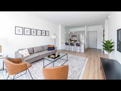 A West Loop one-bedroom model at the just-opened The Van Buren
