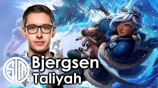TSM Bjergsen - Taliyah vs VladimirNA Challenger - Patch 7.13If you enjoyed the video subscribe for more!Follow LoL Pro Plays on Facebookhttps://www.facebook.com/pages/Lol-Pro-Plays/1411003125778173Outro Music: Shurk - The Wandererhttps://soundcloud.com/shirkofficial/the-wanderer