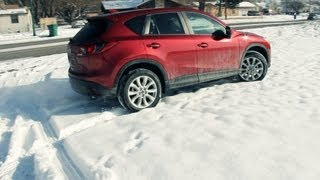 2013 Mazda CX-5 Review And Snow Test Drive! OFF ROAD!