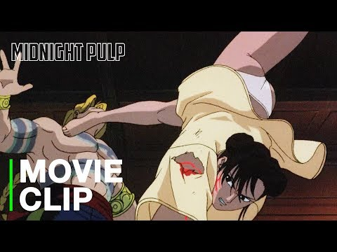 Chun-Li vs. Vega | [HD] Anime fight from Street Fighter II: The Animated Movie'
