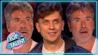 Video MAGIC Confuses Simon Cowell on Britain's Got Talent 2019 | Top Talent MP3, 3GP, MP4, WEBM, AVI, FLV September 2019