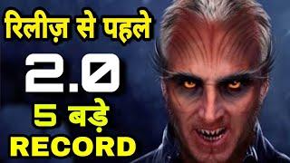 Video Robot 2.0 Makes RECORDS Before Releasing Akshay kumar Rajnikant breaks Salman khan Aamir khan Record MP3, 3GP, MP4, WEBM, AVI, FLV Januari 2019