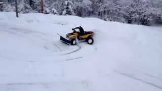 7. 2007 CAN AM Outlander 800 MAX XT Snow Review By Eddie Vegas