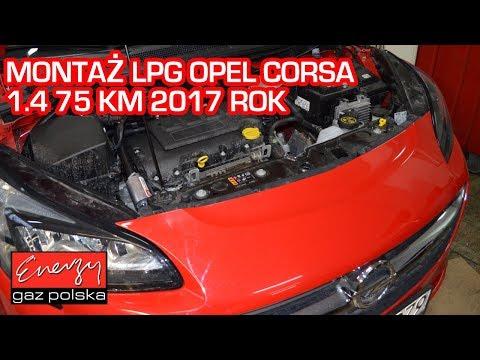 Montaż LPG Opel Corsa 1.4 75KM 2017r w Energy Gaz Polska na auto gaz BRC SQ 32 OBD