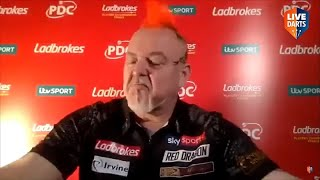 """Michael van Gerwen on Simon Whitlock defeat: """"I was absolutely gutted, I knew there was more to go"""""""