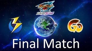 """FINALE! Inazuma Eleven GO 3 Galaxy : Earth Eleven VS """"GO"""" (Final Match Special)"""