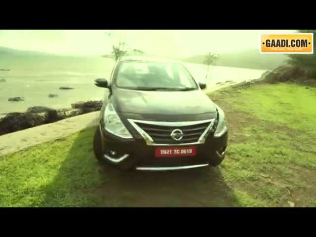 Nissan Sunny Road Test