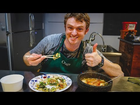 Korean Cooking Class In Seoul, Korea | Learning How To Make My Favorite Korean Food